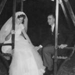 Isa y Juancho recién casados