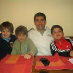 Diego y los chicos